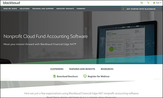 Visit Blackbaud's website to learn more about Financial Edge to see if you want to use it for your next Salesforce integration for your nonprofit.