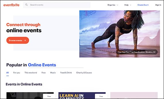 Learn more about Eventbrite by visiting their website to see if you're interested in their Salesforce integration for nonprofits.