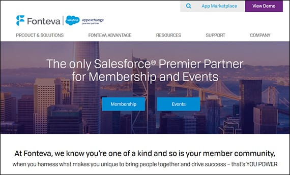 Learn more about Fonteva's Salesforce apps for nonprofits by visiting their website.