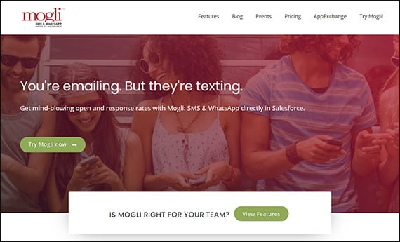Learn more about Mogli SMS and their Salesforce app for nonprofits by visiting their website.