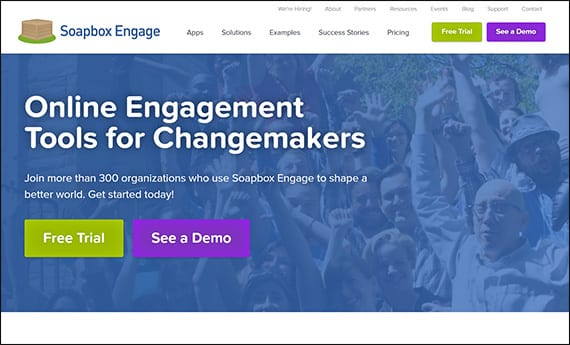Learn more about Soapbox Engage's Salesforce apps for nonprofits by visiting their website.