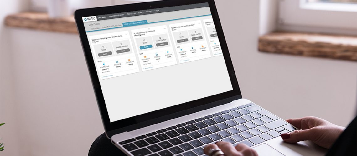 Salesforce Marketing Cloud - Blackbaud RE NXT Integration Powered By Omatic Cloud
